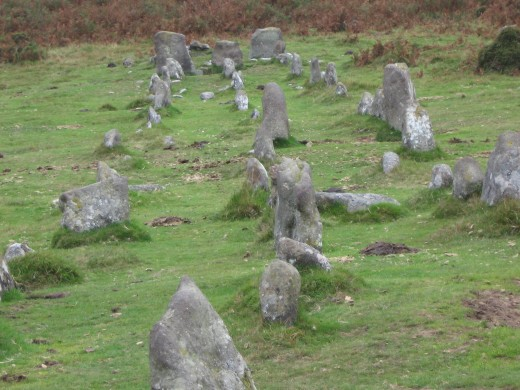 The Graveyard, Stone Rows, Cosdon