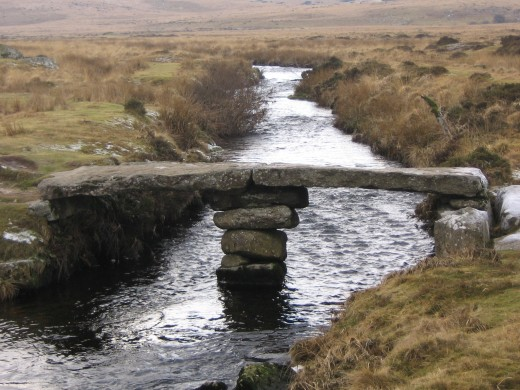 Clapper Bridge  near Scorhill