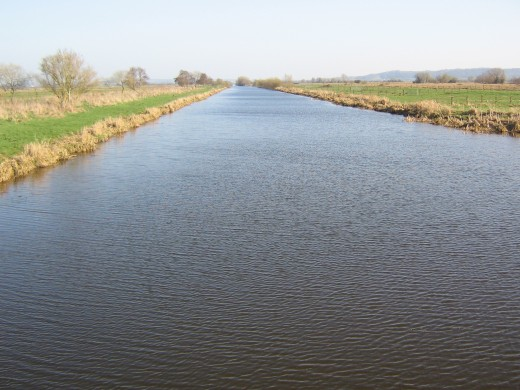 King's Sedgemoor Drain, Somerset Levels