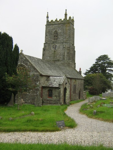 Milton Abbot Church
