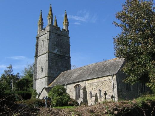 Bradstone church