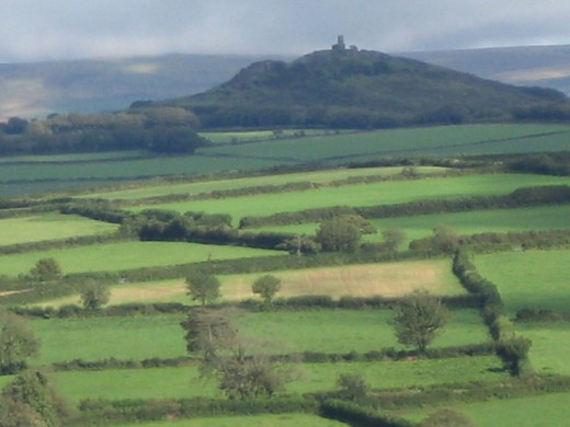 Towards Brentor from the west