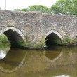 Lostwithiel Bridge, ancient crossing over Fowey River