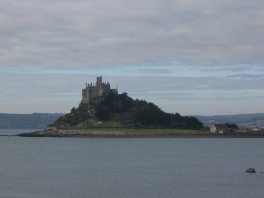 St Michael's Mount from the East side