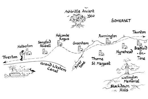 Mary Michael Pilgrims Way pilot section part 5: Tiverton to Taunton