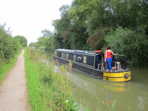 Kennett and Avon Canal, near Trowbridge
