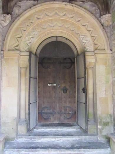 Norman Archway, Pilton Church