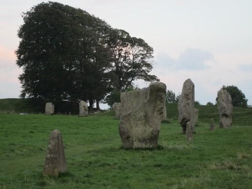 Part of  Avebury stone circle, southern side