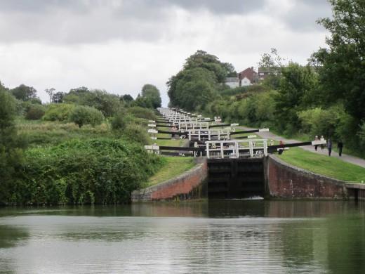 Caen Hill Flight of locks