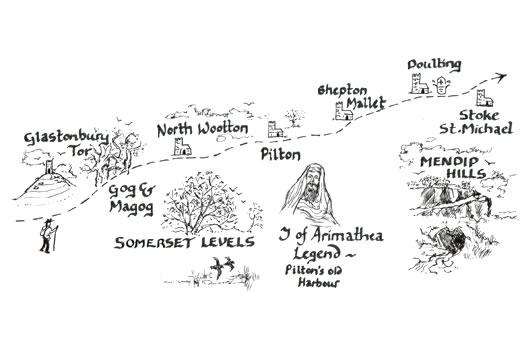 Mary Michael Pilgrims Way: Glastonbury to Stoke St Michael