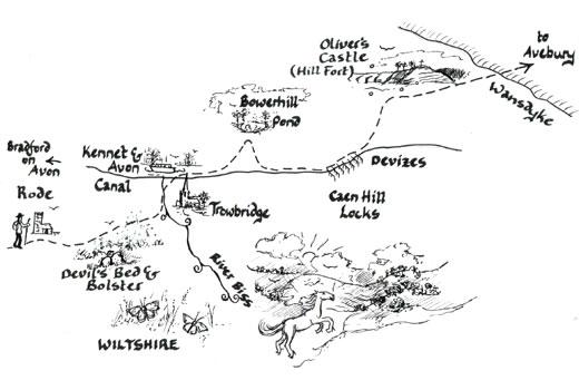 Mary Michael Pilgrims Way: Rode to Wansdyke