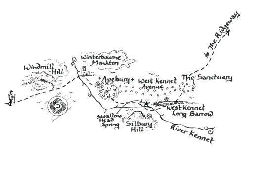 Mary Michael Pilgrims Way: Wansdyke to Avebury