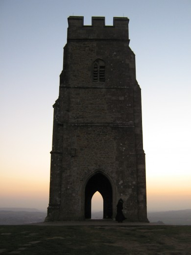 77. St Michael,s Tower , Glastonbury Tor